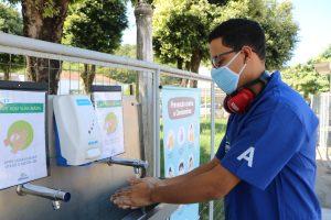 Cooperativa instala barreiras sanitárias para proteção de seus colaboradores, prestadores de serviços e cooperados