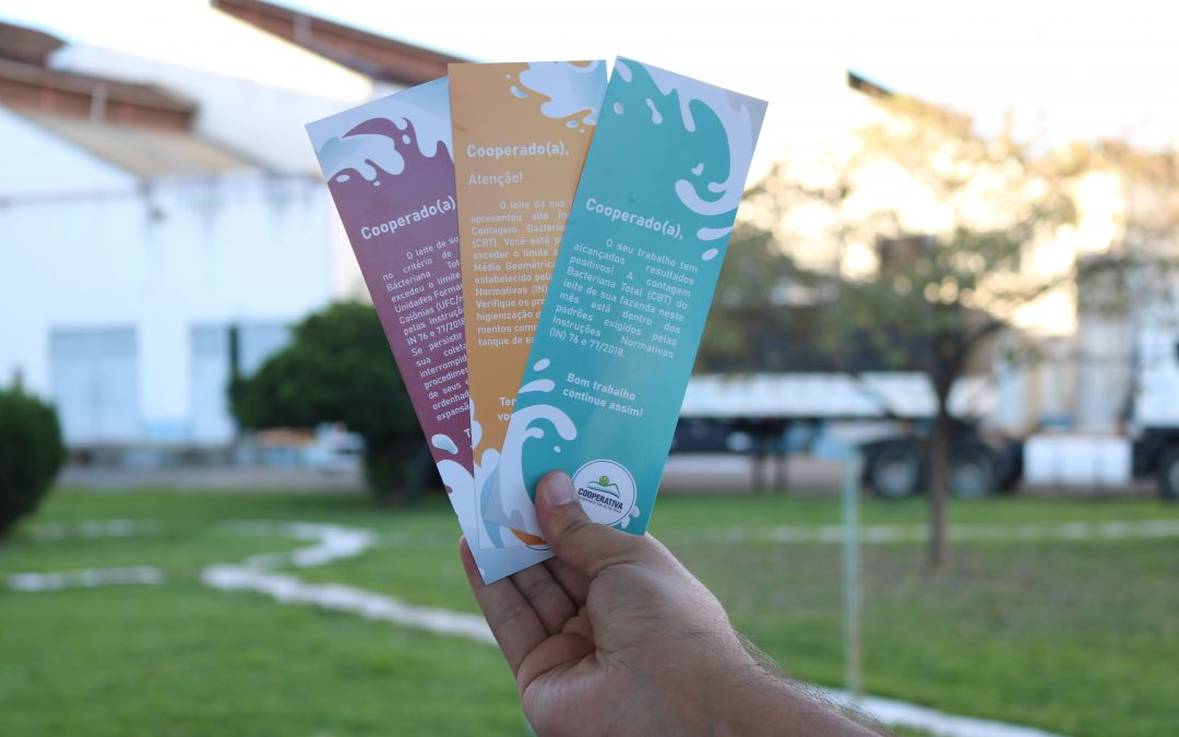 Cooperativa lança Sistema de Alerta da Qualidadedo Leite