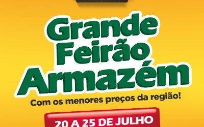 ARMAZÉM DA COOPERATIVA REALIZA GRANDE FEIRÃO NESTE MÊS DE JULHO