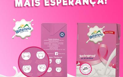Ibituruna lança embalagem especial para campanha do Outubro Rosa