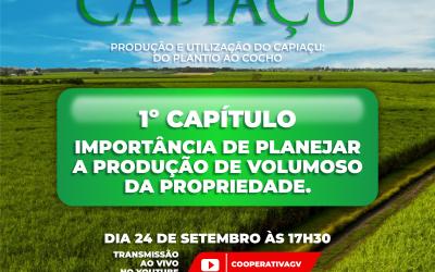 Cooperativa inicia sua Websérie sobre Capiaçu