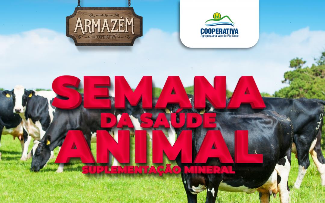 Armazém da Cooperativa realiza Semana da Saúde Animal