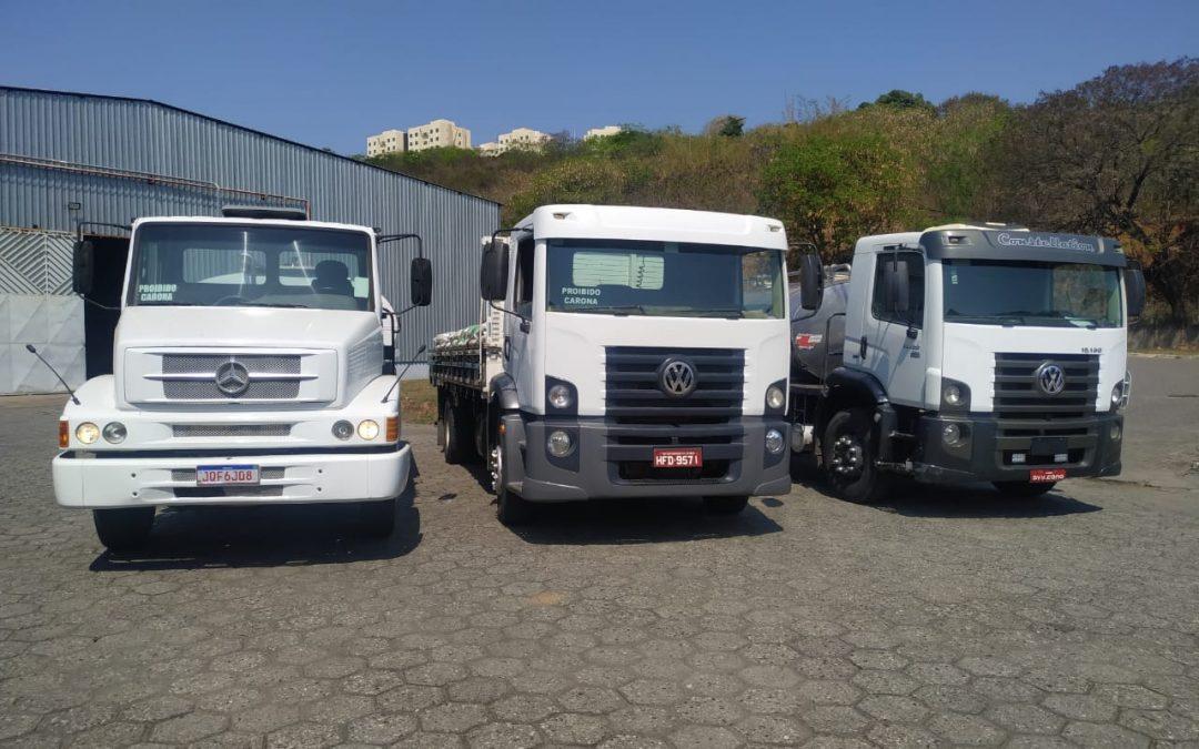 Cooperativa amplia sua frota de caminhões