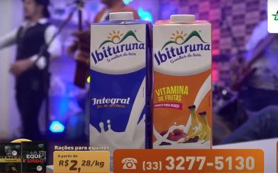 Armazém da Cooperativa realizará a entrega do leite arrecadado em sua 3ª Live
