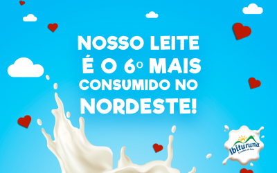 Ibituruna é a 6ª marca de lácteos com maior cota de mercado no estado da Bahia
