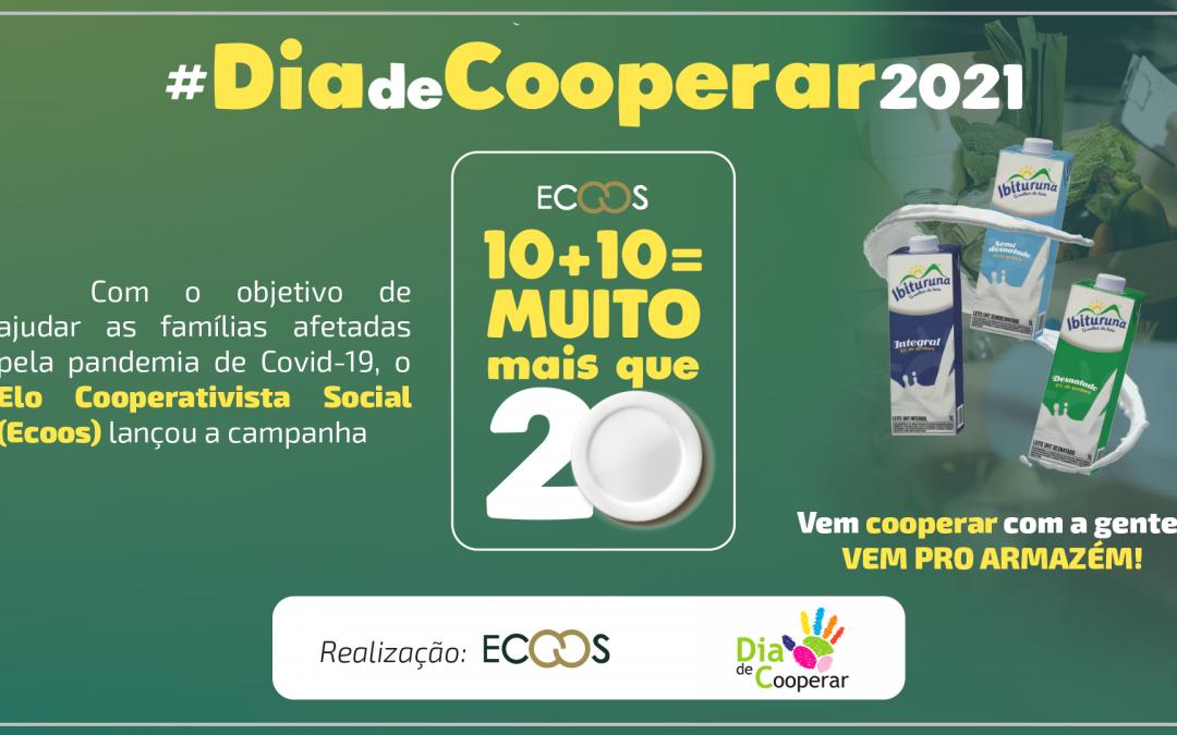 Cooperativa realizará doação de quase 400 litros de leite à ADQF