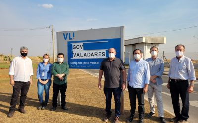 Presidente da Cooperativa visita a VLI em Uberaba para transbordo de grãos pela linha ferroviária